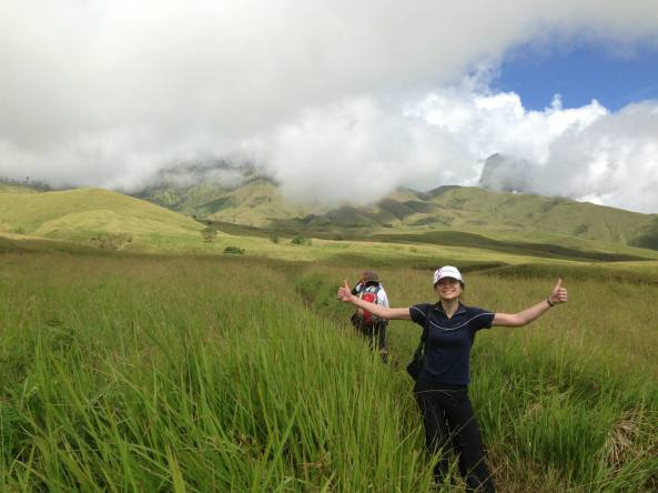 The Savanaah Grass Tall at Sembalun Lawang altitude 1400m