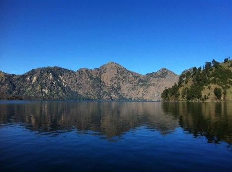 Segara Anak Lake of Mount Rinjani