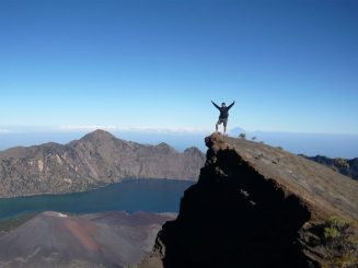 Summit of Mount Rinjani 3726m