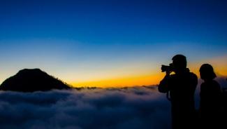 Plawangan Sembalun Crater Rim altitude 2639 m