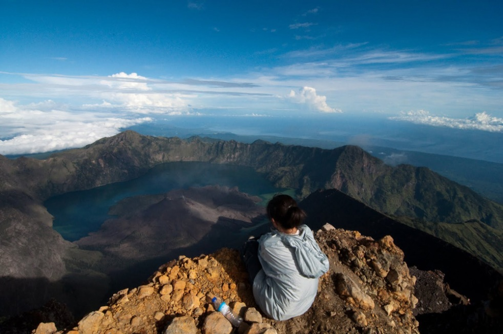 Summit Mount Rinjani