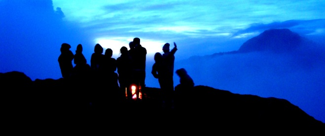 Plawangan Sembalun Crater Rim altitude 2639m mount Rinjani