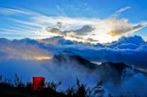 Plawangan Sembalun crater rim altiude 2639 meters Mount Rinjani