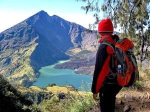 Plawangan Senaru an altitude 2641m