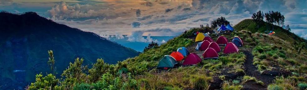Plawangan Sembalun crater Mount Rinjani Lombok