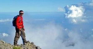 Plawangan Senaru crater altitude 2641 meters mount Rinjani