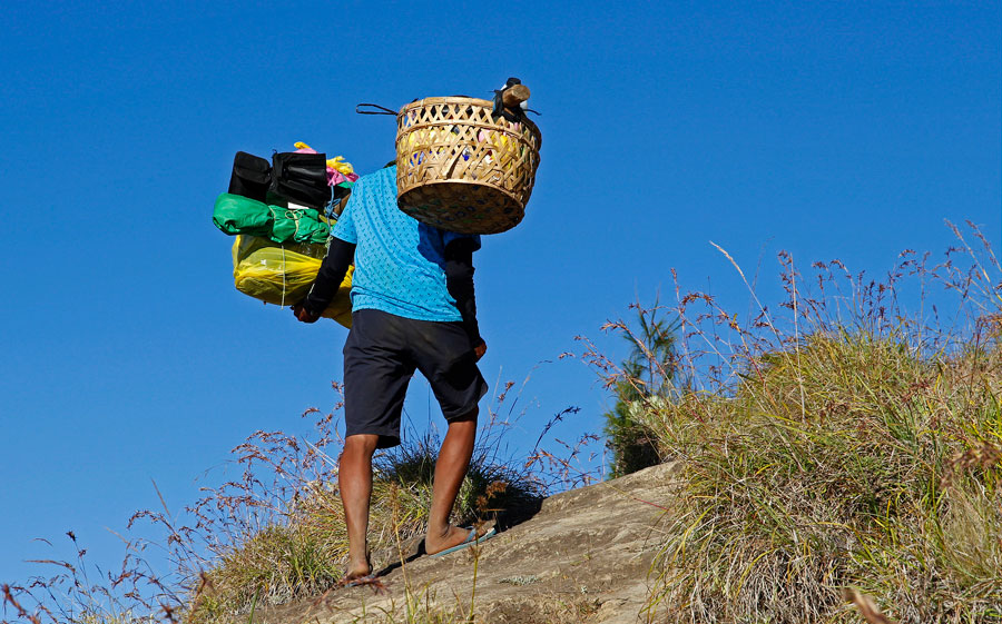 About Your Porters - Mount Rinjani